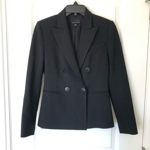 Judith & Charles Wool Double Breast Suit Jacket